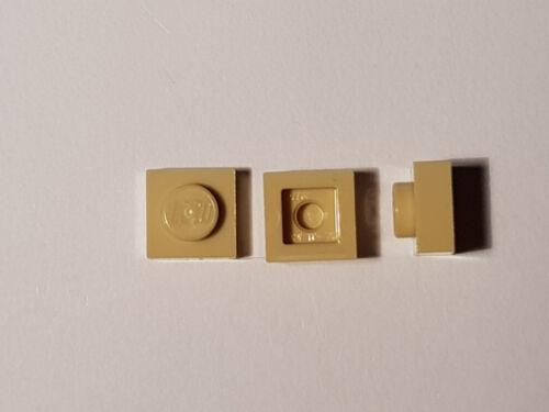 LEGO® 10 x 3024 Platte 1 x 1 beige 4159553 #BC05 Tan