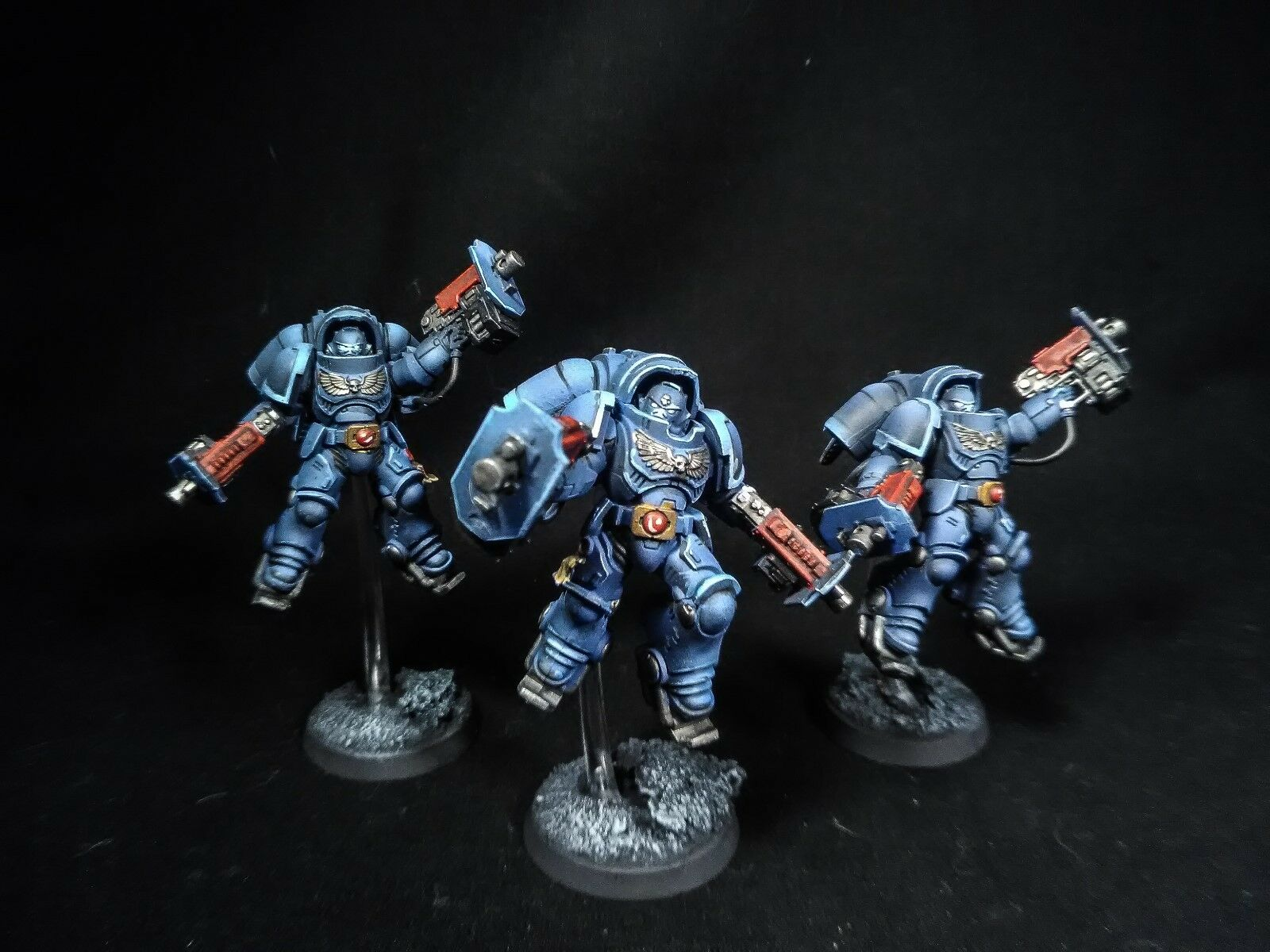 Warhammer 40k Primaris inceptors Pro pintado de comisión