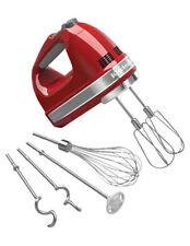 KitchenAid Artisan 9 Speed Hand Mixer: Empire Red