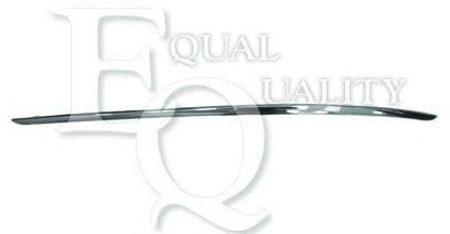 M0863 EQUAL QUALITY Modanatura protettiva Paraurti anteriore Sx cromo MERCEDES-B