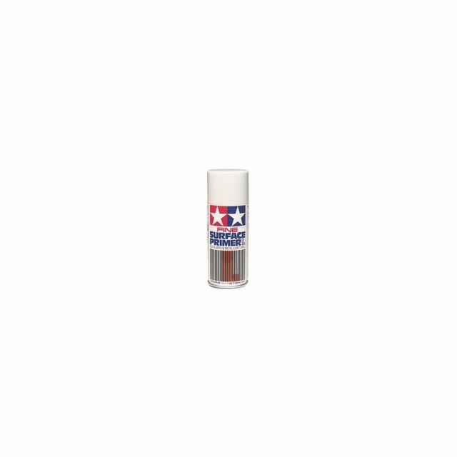 Tamiya Tami87064 Spray apprêt fin gris 180ml
