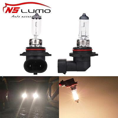 9006 2x HB4 55w Clear Xenon Headlight Bulbs 12v