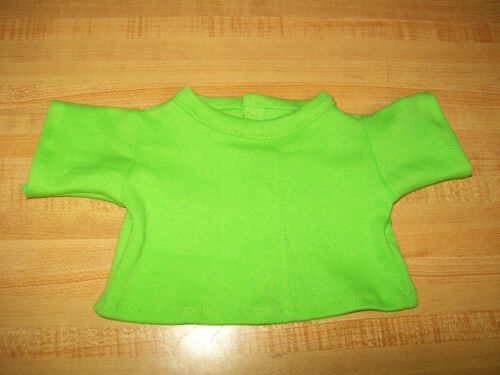 """LIME GREEN TEE SHIRT for 15-16-17-18/"""" CPK Cabbage Patch Kids"""