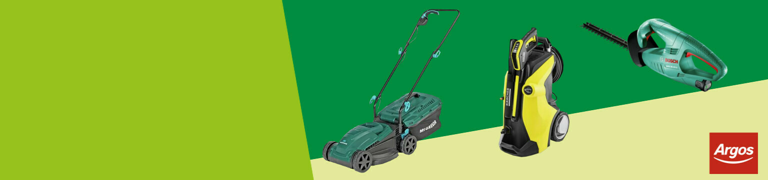 Savings on Garden Power and Pressure Washers