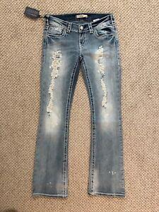 Jeans Cut L33 Nwt Boot Kingston X Silver W29 qwn0tIU