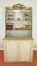 DRESSER OR COUNTER COLMADO TOY IN WOOD. SPAIN. CIRCA 1930.