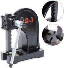 1 Ton Arbor Press Manual Desktop Ratchet Leverage Punch Press Metal Stamp Tool