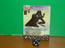 DICE MASTERS D&D Battle for Faerun Rare - 100 Drow Assassin