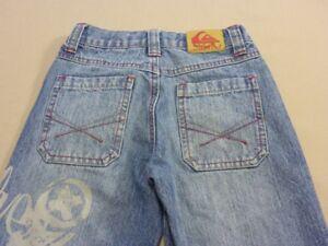 Quiksilver SLIM SURF BLUE Boys Skinny Leg Jeans Pants Denim Size 16 Rrp$80