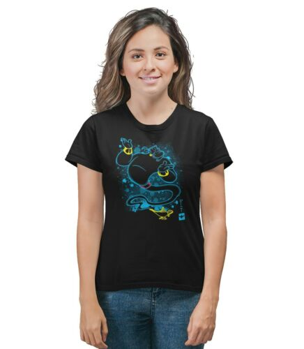 The Genie Of The Lamp Paint Effect Disney Inspired T-Shirt Adults /& Kids Sizes