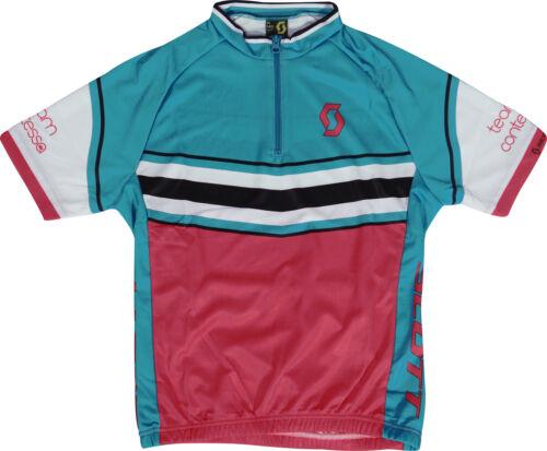 Blue Scott Endurance Short Sleeve Junior Cycling Jersey