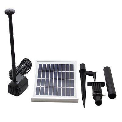 Asc 2 5 Watt Solar Water Pump Kit For Fountain Pool
