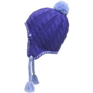 b2a1bd81ad529 North Face kids youth boys girls Cable Knit Beanie w earflaps ...