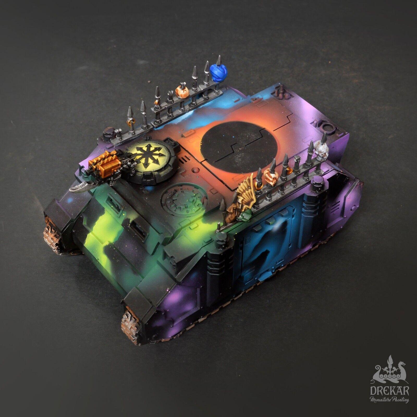Rinoceronte caos Warhammer 40K   intergallactic pintura de comisión