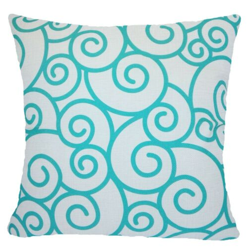 """PILLOW COVER Turquoise Blue 2-Sided Decorative Home Decor Cushion Case 18x18/"""" US"""