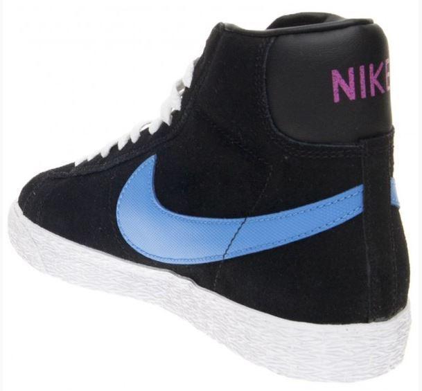 Nike Gr Blazer Mid Vintage (GS) Gr Nike 38 schwarz/Blau/Weiß/pink 539930 005 f533bc