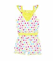 Baby Girls Clothes Starting Out Infant Flutter Sleeve Romper 24 M Yellow $16