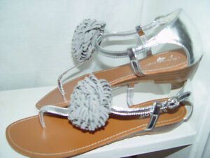 da8a17d65aab Image is loading NIB-Bamboo-flower-sandals-shoes-women-039-s-