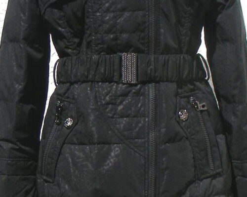 Schwarz In Damen Daunenjacke Für Winterjacke Xsd3020 Parka Daunenmantel Outdoor axR6qx