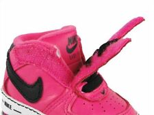 NIKE BABY SHOES CRIB SNEAKERS FORCE 1 GIFT INFANT NEWBORN PINK GIRL'S SIZE 2C