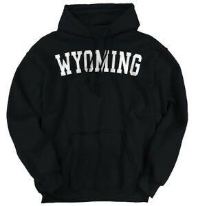 Wyoming State Shirt Athletic Wear USA T Novelty Gift Ideas Hoodie Sweatshirt