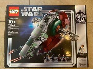 LEGO Star Wars Slave l 20th Anniversary Edition 75243 LEGO NEW SEALED