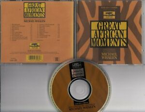 GREAT-AFRICAN-MOMENTS-Soundtrack-MICHAEL-WHALEN-1994-CD-NARADA-CINEMA