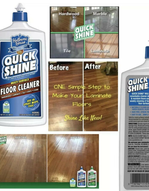 2 Holloway House Quick Shine Multi Surface Floor Cleaner Hardwood