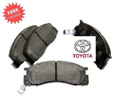 Toyota Previa Estima 90-00 2TZFE tcr1 tcr2 Genuine OE Spec Front Brake Pad Set