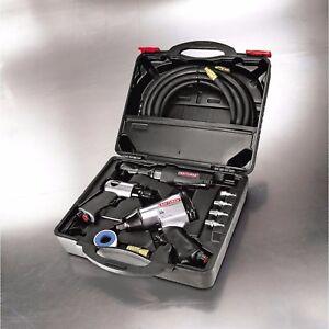 Air Tool Set Air Compressors Tools Hammer Rachet Impact Wrench Craftsman 10 pc