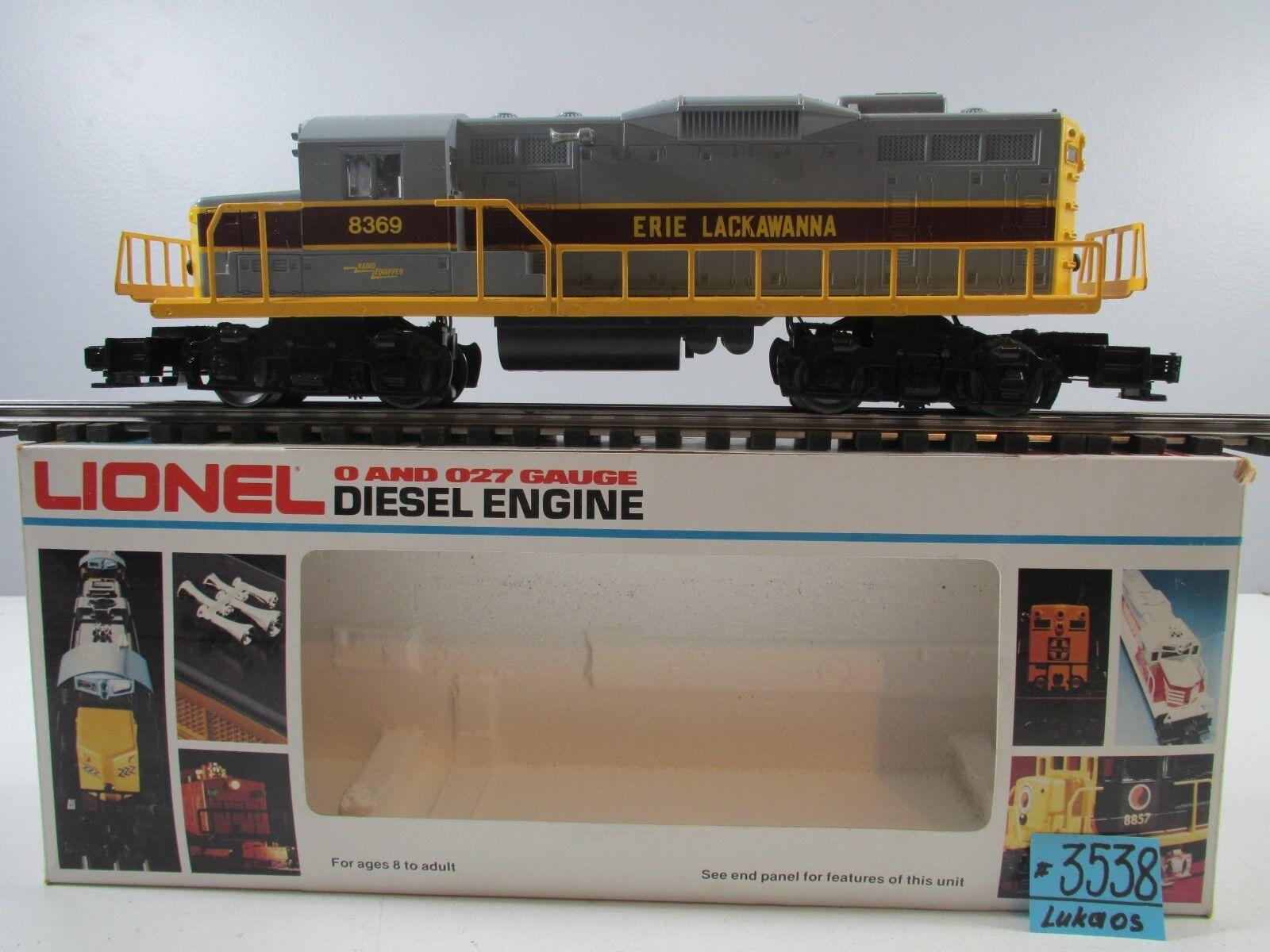 Lionel 6-8369 Erie Lackawanna GP20 Diesel Locomotora O.B.