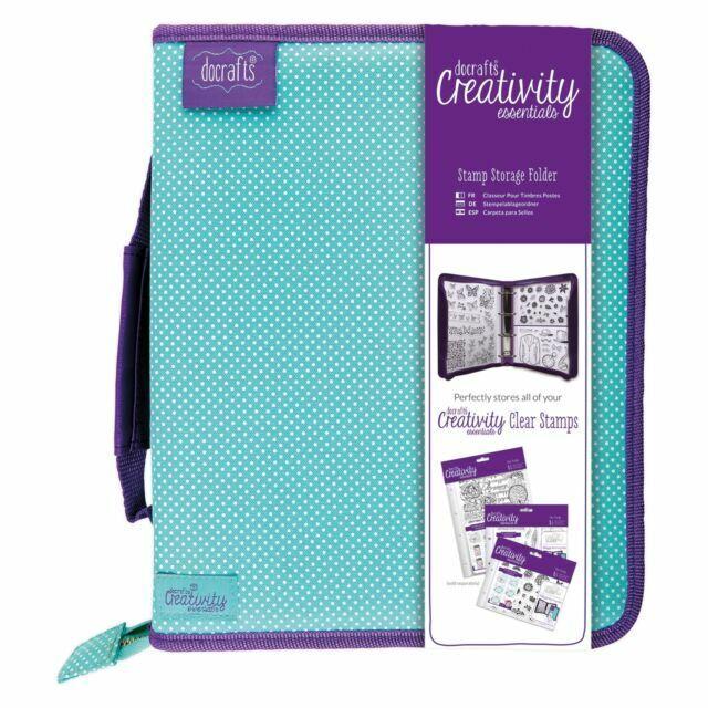 Docrafts Creativity Essentials Stamp Storage Folder DCE907100