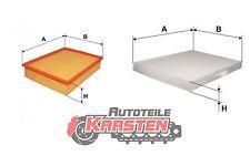 Set S: Luftfilter+Innenraumfilter Inspektionspaket SKODA VW