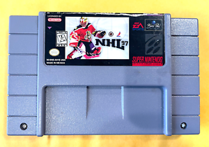 NHL Hockey 1997 97 SUPER NINTENDO SNES GAME ++ Tested ++ WORKING ++ AUTHENTIC!
