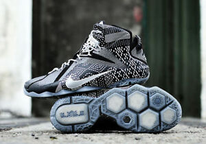 on sale b269c 1d056 Image is loading Nike-LeBron-12-XII-BHM-size-13-718825-