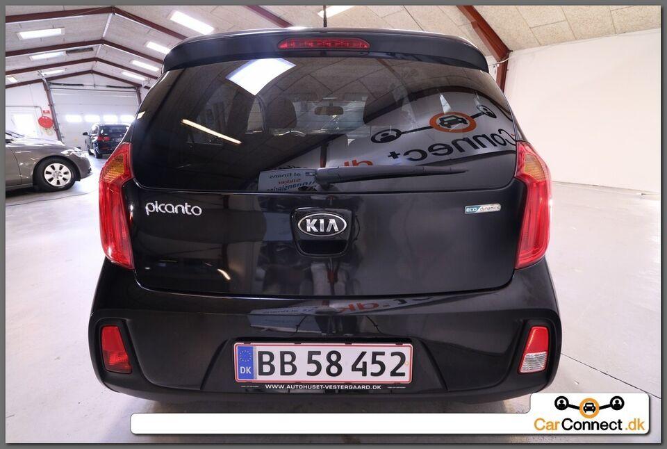 Kia Picanto 1,0 Premium Benzin modelår 2016 km 71000 Sort