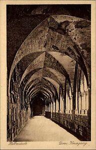 Halberstadt-Sachsen-Anhalt-Harz-AK-1920-30-Dom-Kreuzgang-Kirche-Church-Eglise