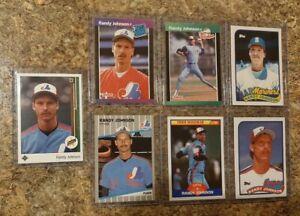 7-Randy-Johnson-1989-Upper-Deck-Donruss-Score-Fleer-Topps-Rookie-card-lot-RC