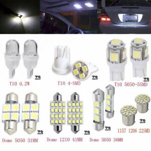 14Pcs-T10-36mm-mapa-cupula-luces-de-la-matricula-LED-Interior-Paquete-Kit-Set