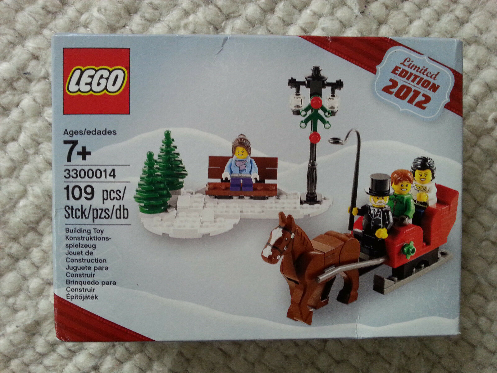 LEGO LEGO LEGO Creator 3300014 Winterliche Kutsche LIMITED EDITION 2012 NEU OVP defbc7