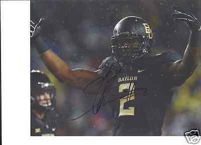 Sports Mem, Cards & Fan Shop Punctual Shawn Oakman Baylor Bears Signed 8x10 Photo W/coa