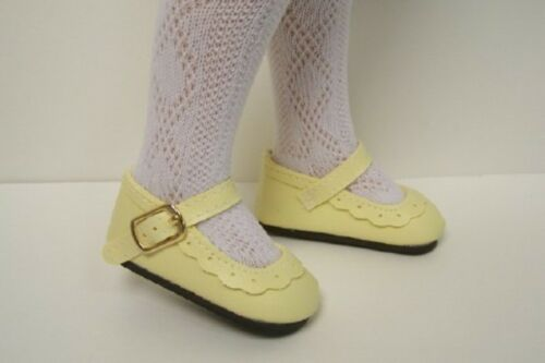 "Debs YELLOW Classic Shoes For 16/"" Kish Season Dolls Spring Summer Winter Fall"