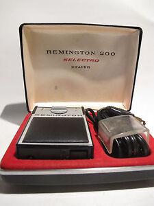 Vintage Remington 200 Selectro Electric Shaver Ebay