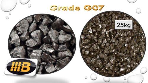Grado de medios grano refrigerada de hierro G07-25kg Arena Chorro De Tiro Vidrio abrasivo grano