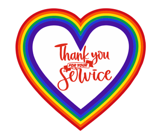 2 x Thank You NHS /& Key Workers Rainbow and Hearts Sticker for Shop House Window PVC sticker Car
