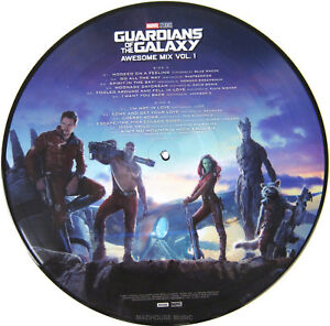 GUARDIANS-OF-THE-GALAXY-LP-Awesome-Mix-Vol-1-PICTURE-DISC-Sealed-in-PVC
