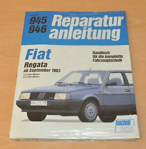 Fiat Regata 1,3l 1,5l Ab September 1983 Handbuch Ovp Neu Reparaturanleitung B945 Warm Und Winddicht Anleitungen & Handbücher