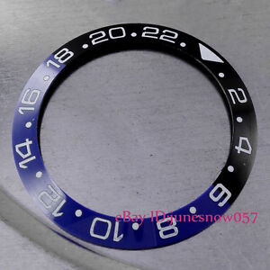 38mm-High-Quality-Black-amp-Blue-Ceramic-Bezel-Insert-for-GMT-Men-039-s-Watches