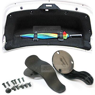 Trunk Cargo Multi Umbrella Holder Hanger Tray Black Diy Kit for SUBARU