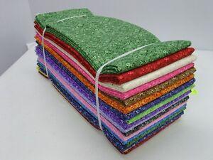 100 % Cotton Confetti Floral Half Yard Bundle
